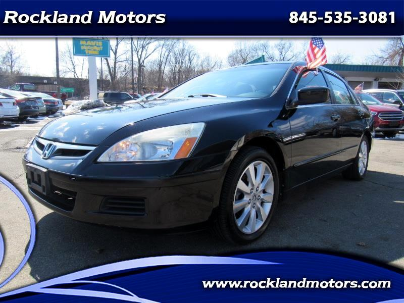 2007 Honda Accord EX-L V-6 Sedan AT with Navigation