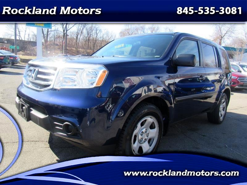2014 Honda Pilot LX 4WD 5-Spd AT