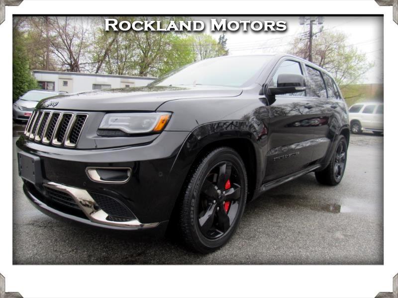 2016 Jeep Grand Cherokee Overland High Altitude 4WD