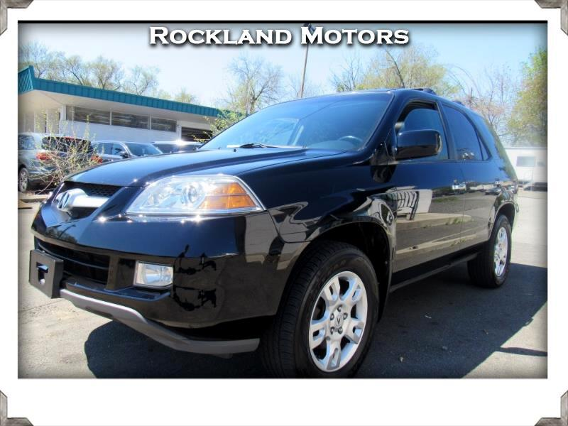 2006 Acura MDX Touring with Navigation System