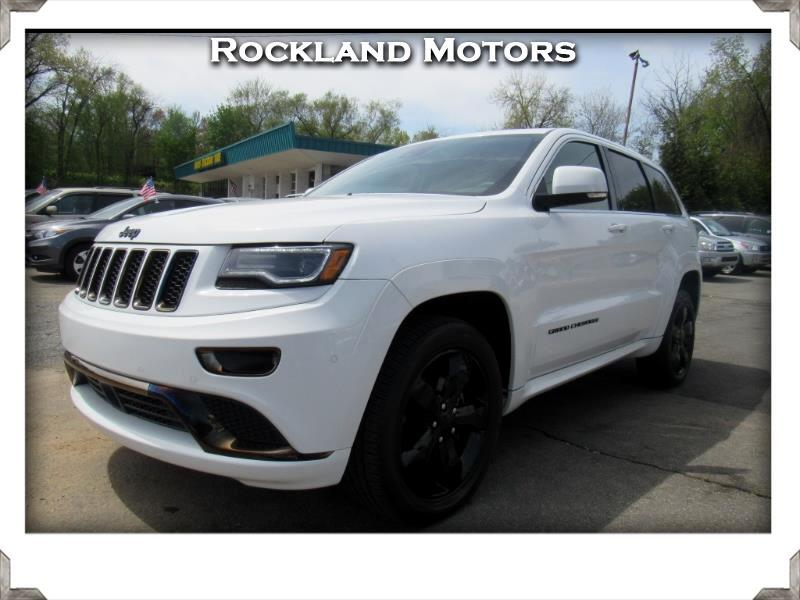 2016 Jeep Grand Cherokee Overland High Altitude 4x4