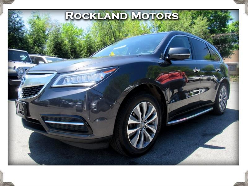 2014 Acura MDX Tech Package with Power Tailgate