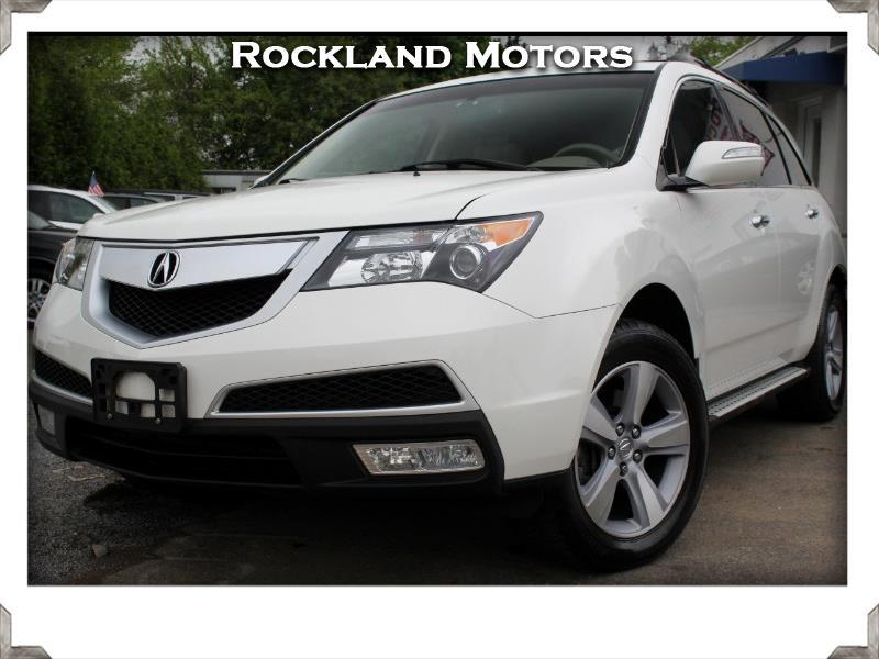 2013 Acura MDX 6-Spd AT