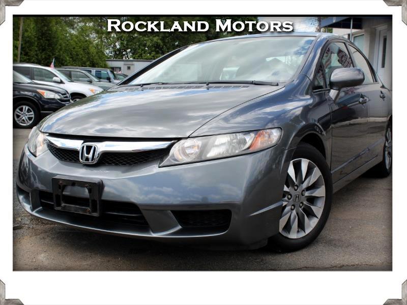 2009 Honda Civic EX Sedan 5-Speed AT