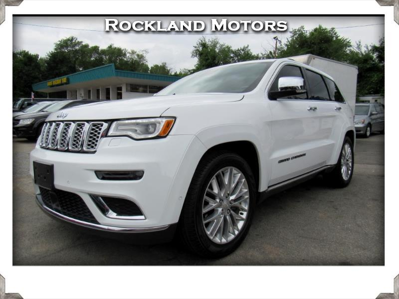 2018 Jeep Grand Cherokee Summit >> Used 2018 Jeep Grand Cherokee Summit 4wd For Sale In West