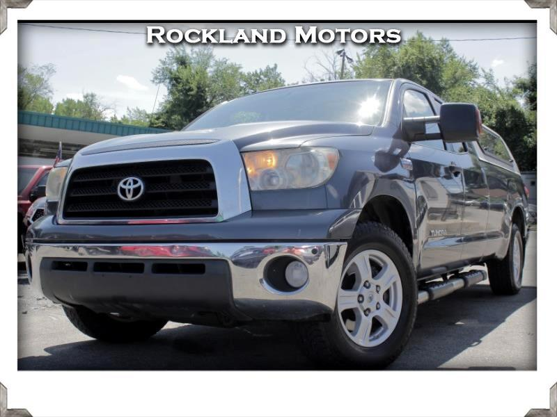 2007 Toyota Tundra SR5 5.7L V8 Double Cab 2WD Long Bed