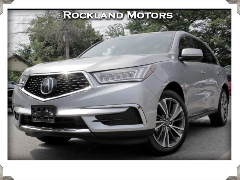Acura MDX SH-AWD 9-Spd AT w/Tech Package 2019