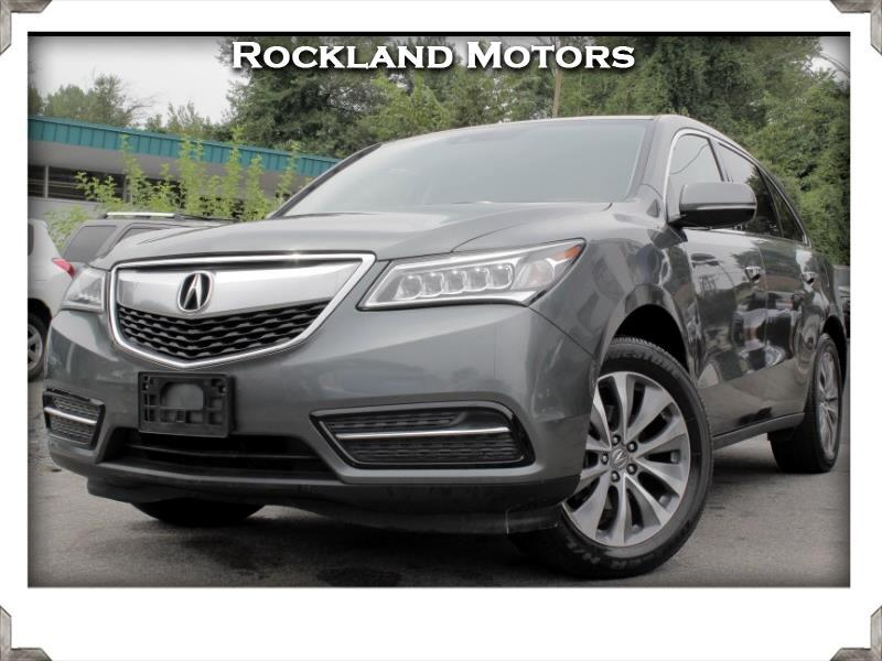Acura MDX 6-Spd AT w/Tech Package 2014