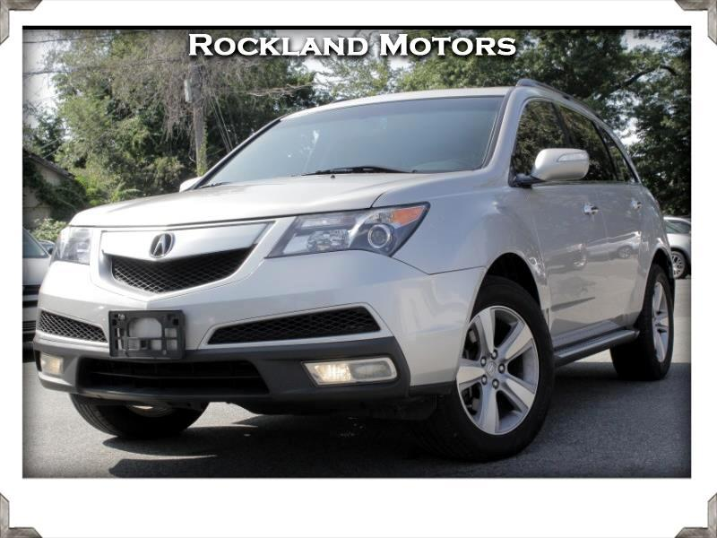 Acura MDX 6-Spd AT 2011