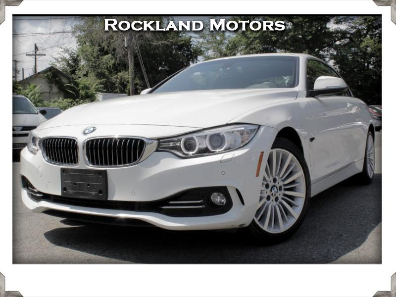 2014 BMW 4-Series 428i xDrive Convertible Luxury Package