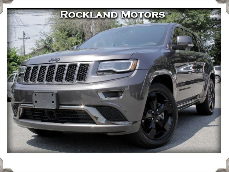 2016 Jeep Grand Cherokee High Altitude 4x4