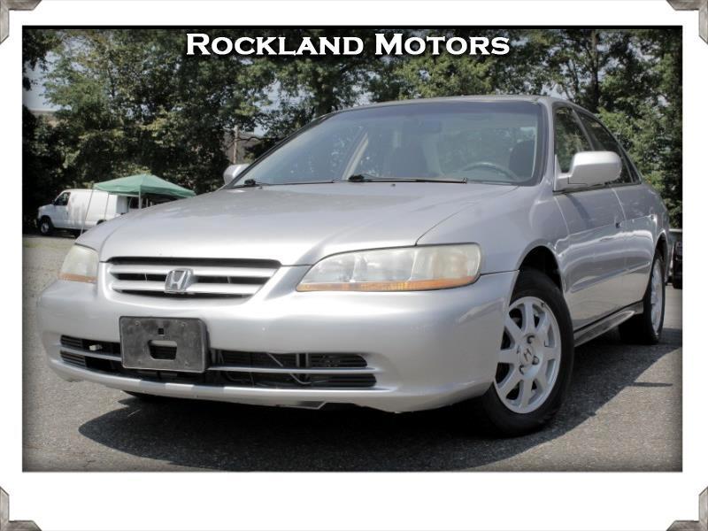 2002 Honda Accord Special Edition Sedan