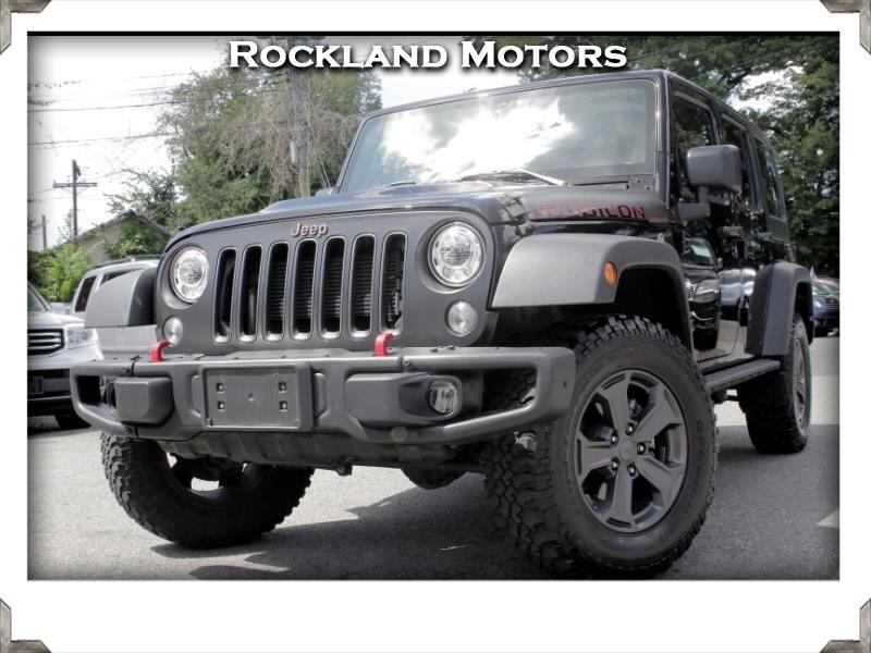 2017 Jeep Wrangler Rubicon Recon 4x4