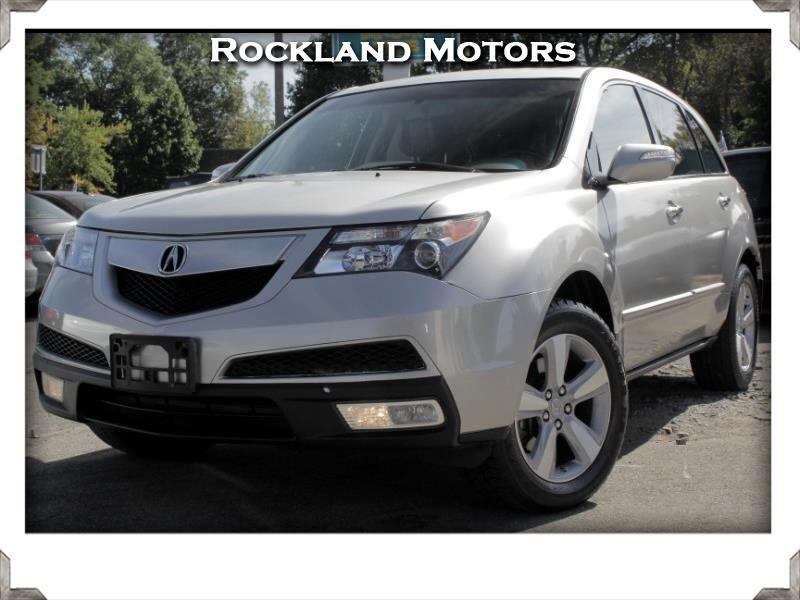 Acura MDX 6-Spd AT w/Tech Package 2012