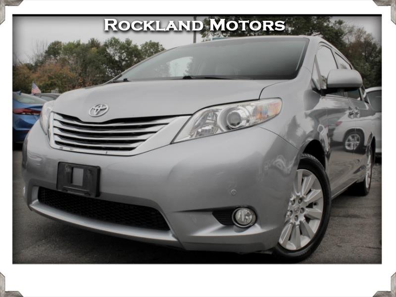 2011 Toyota Sienna 5dr 7-Pass Van Ltd AWD (Natl)
