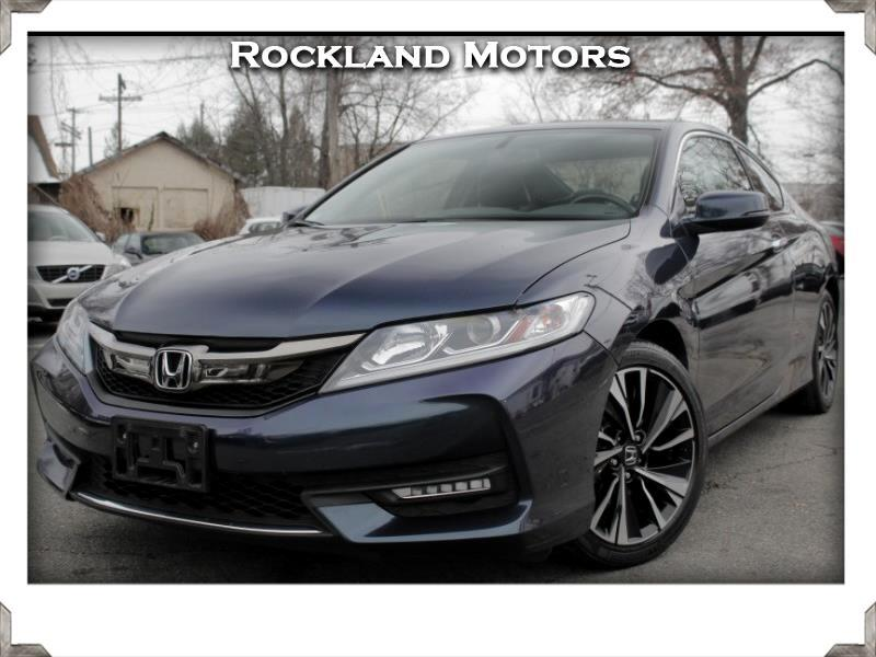 2016 Honda Accord V6 >> Used 2016 Honda Accord Ex L V6 Coupe At For Sale In West