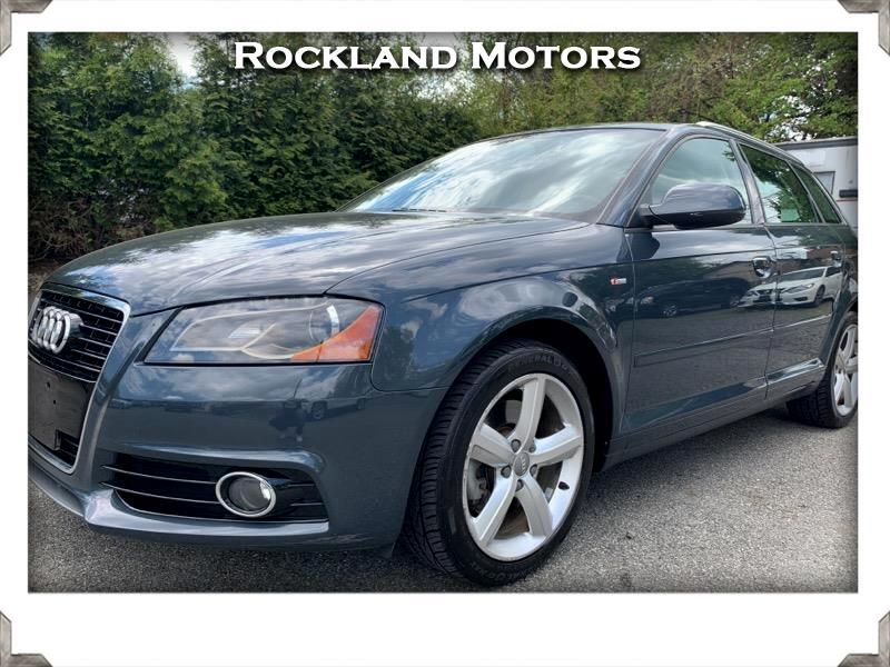 Audi A3 2.0T quattro with S tronic 2012