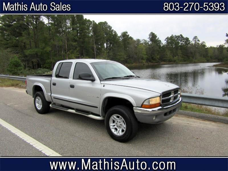 2001 Dodge Dakota 2WD Crew Cab SXT