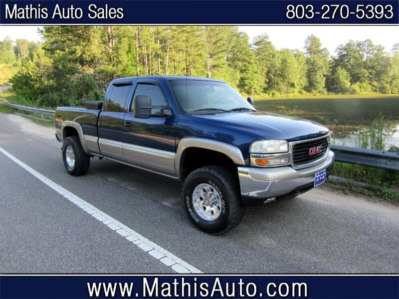 GMC Sierra 1500 SLE Ext. Cab 4-Door Long Bed 4WD 2000