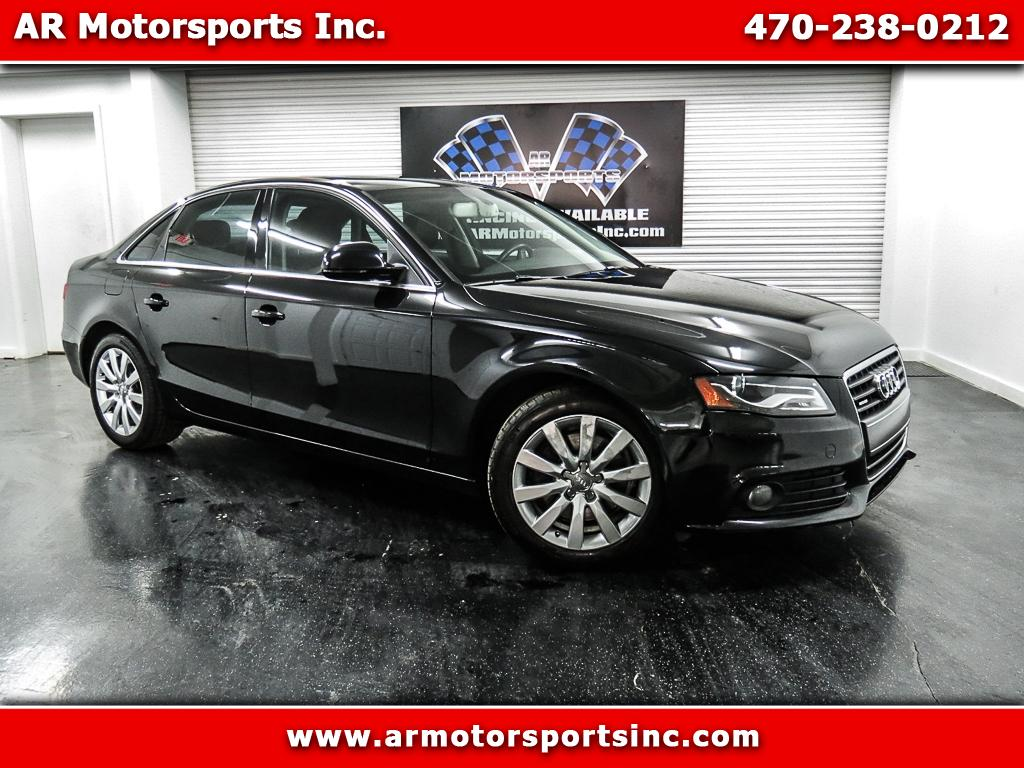2009 Audi A4 2.0 T Sedan Quattro Tiptronic With Navigation and