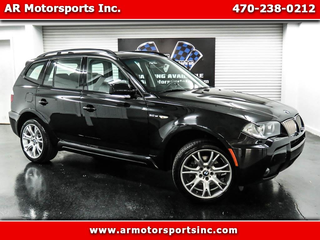 2007 BMW X3 3.0Si AWD WITH SPORT PKG.