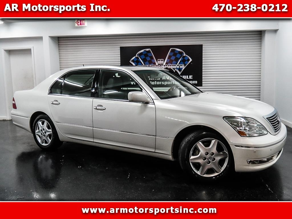 2004 Lexus LS 430 FULLY LOADED WITH NAVIGATION AND BACK UP CAMERA