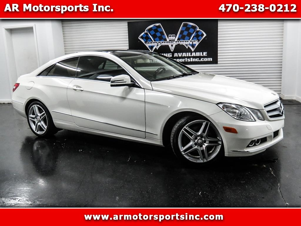 2011 Mercedes-Benz E350 Coupe With Sport Package