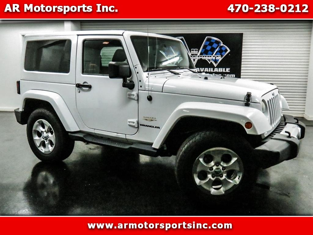 2014 Jeep Wrangler Sahara With Leather And Navigation