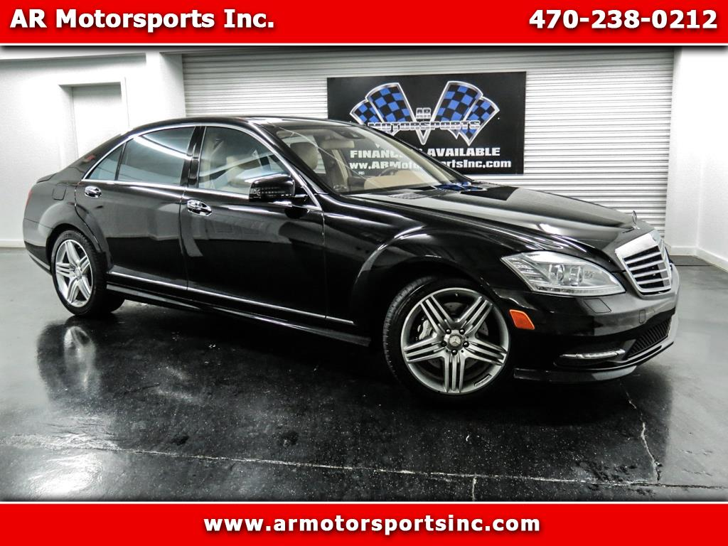 2013 Mercedes-Benz S-Class S550 With AMG Sport Package