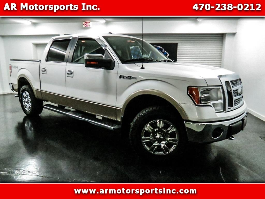 2010 Ford F-150 SuperCrew Lariat 4WD