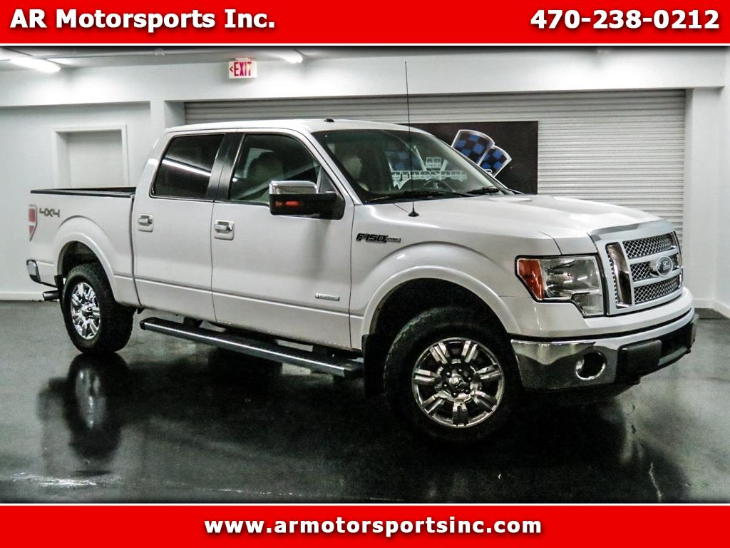 2011 Ford F-150 SuperCrew Lariat 4WD