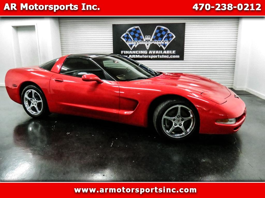 2000 Chevrolet Corvette Coupe Manual