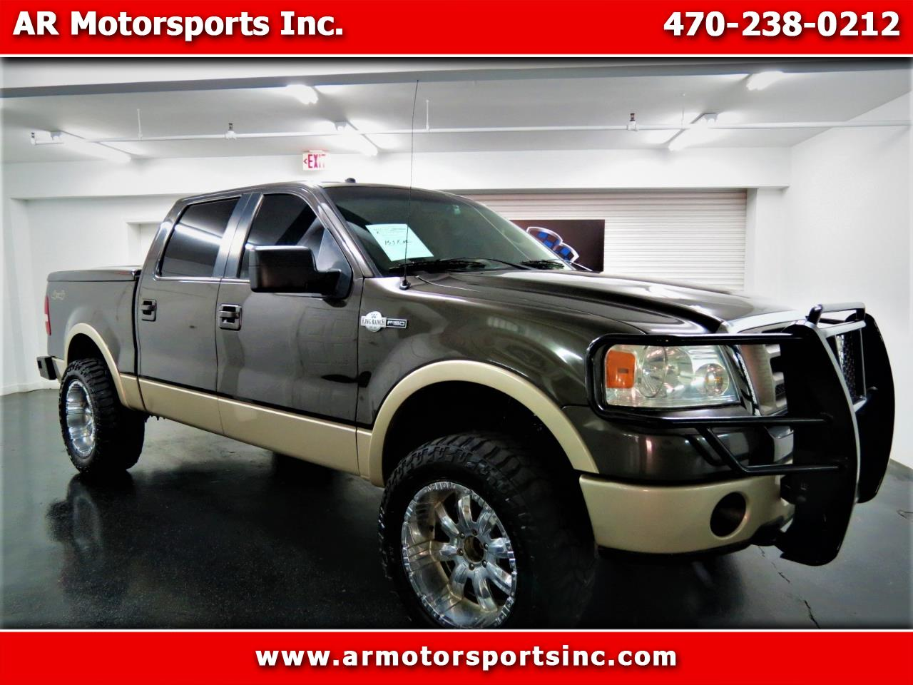 "2007 Ford F-150 4WD SuperCrew 145"" King Ranch"