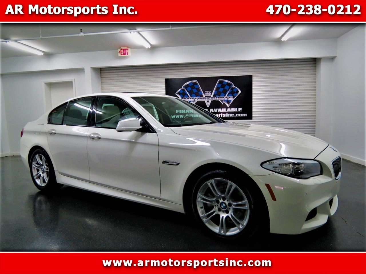 2013 BMW 5-Series 528i with M pkg.