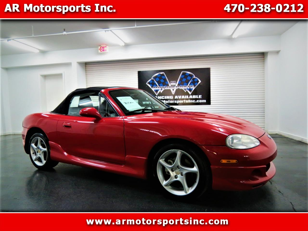 2003 Mazda MX-5 Miata 2dr Conv Leather Pkg Auto