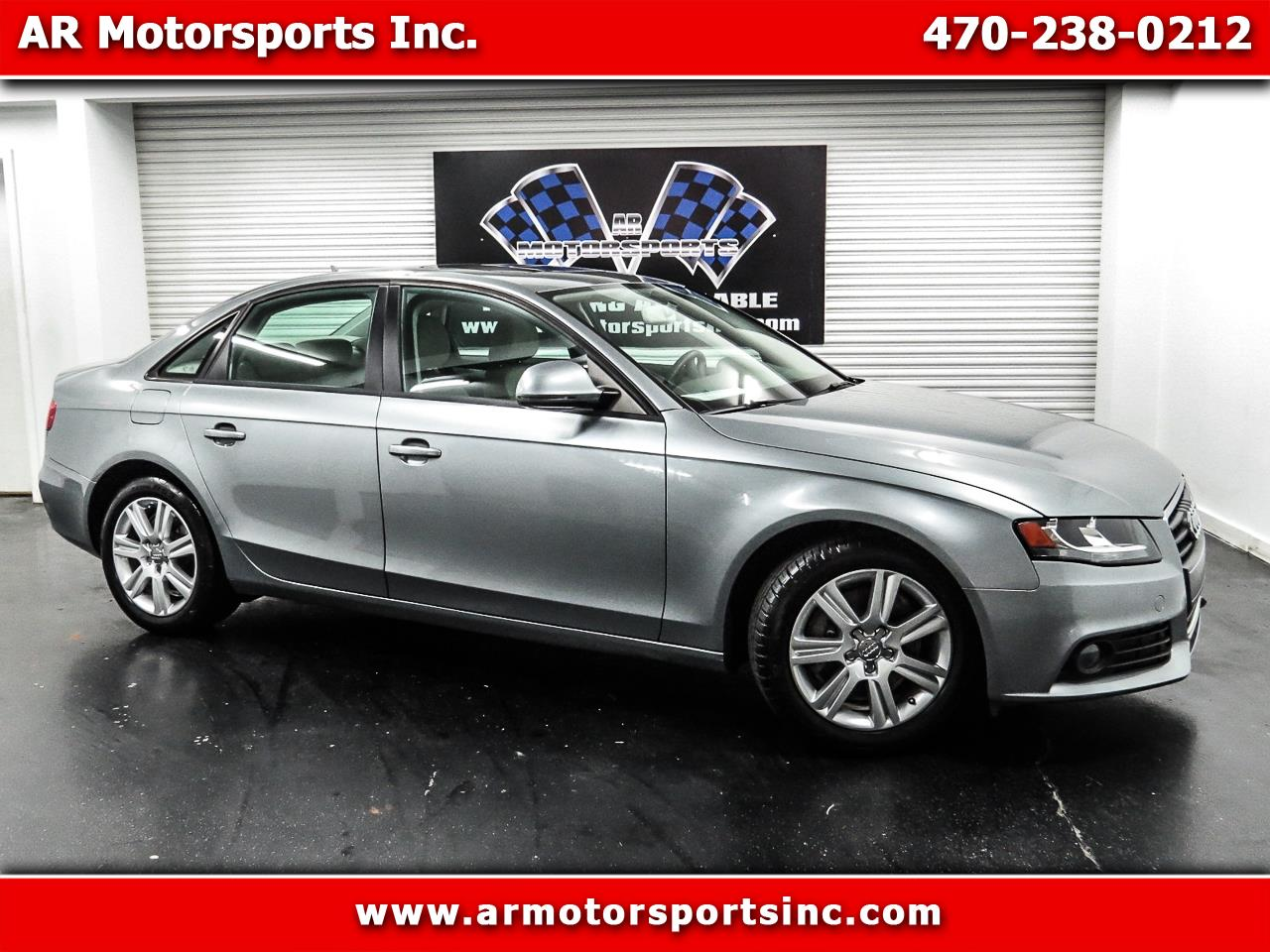 2009 Audi A4 2.0 T Sedan FrontTrak Multitronic