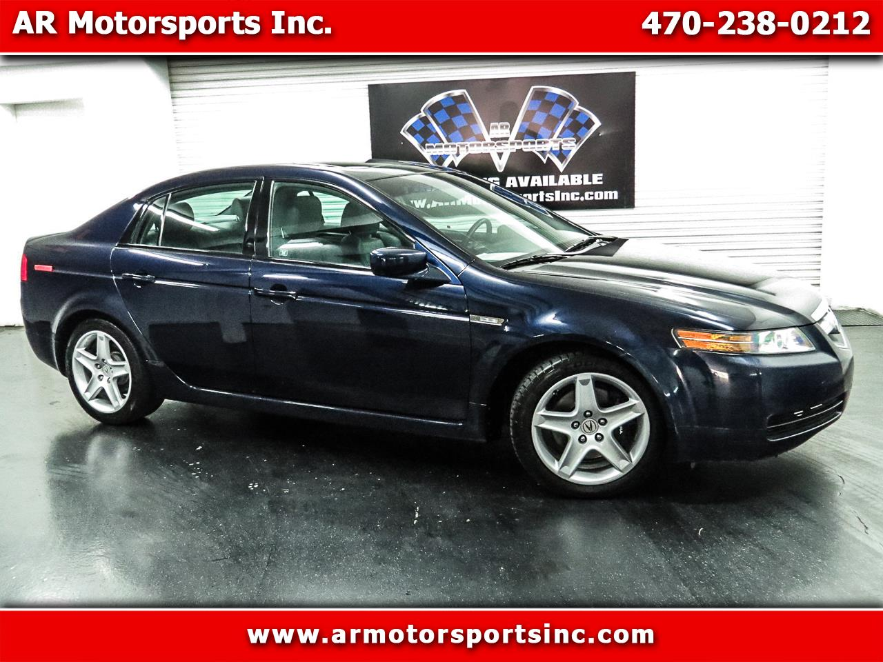 2005 Acura TL 6-Speed Mnual With Navigation