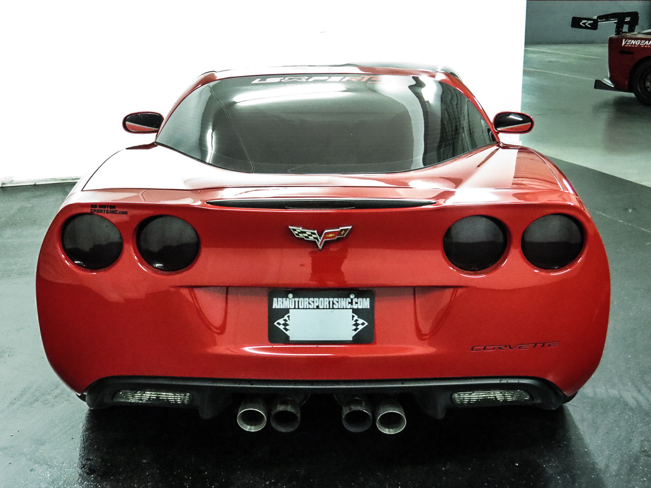 2009 Chevrolet Corvette Coupe With Removable Glass Top