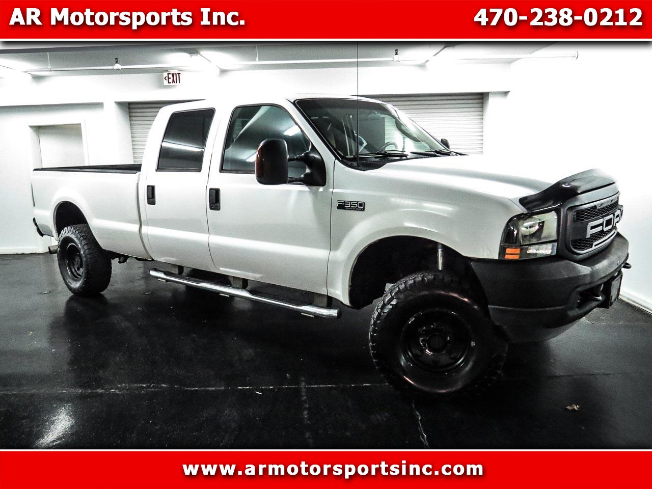 Ford F-350 SD XL Crew Cab 4WD 2003