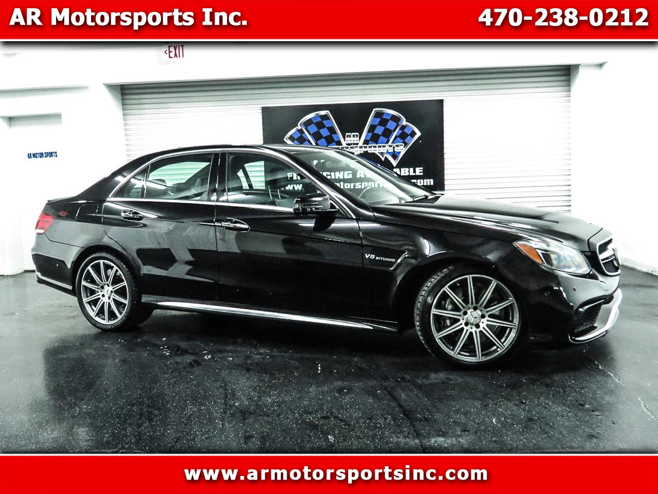 Mercedes-Benz E-Class E63 AMG 4MATIC Sedan 2014