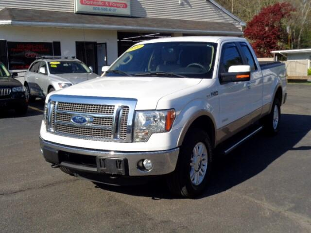 2012 Ford F-150 LARIAT EXT.CAB SHORT BED 4WD