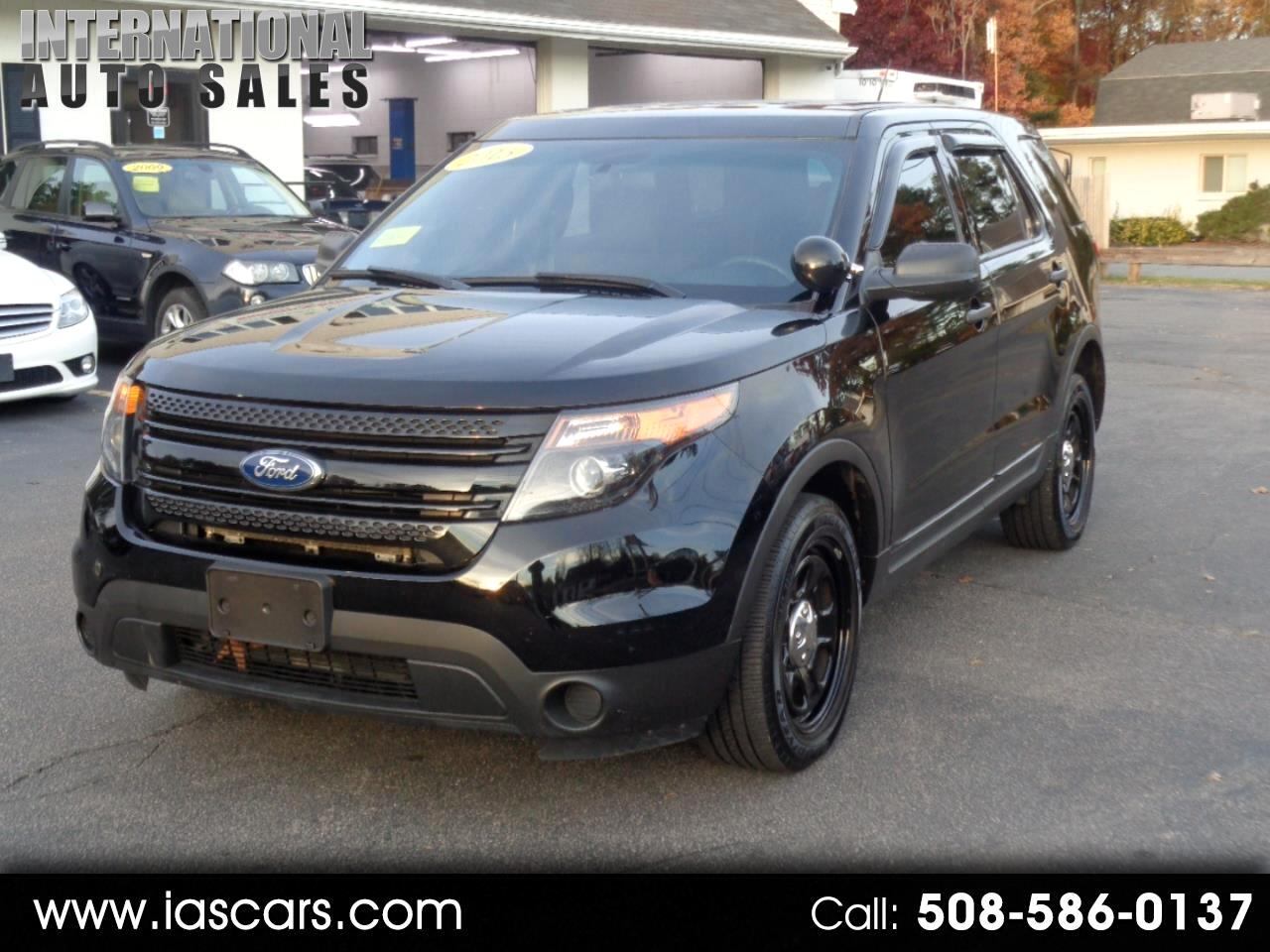 2015 Ford Explorer Police AWD