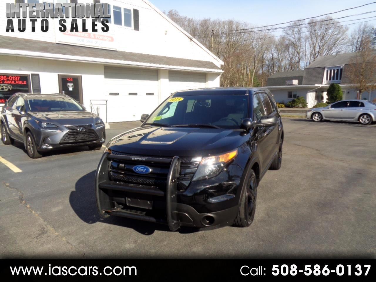 2015 Ford Explorer Police AWD