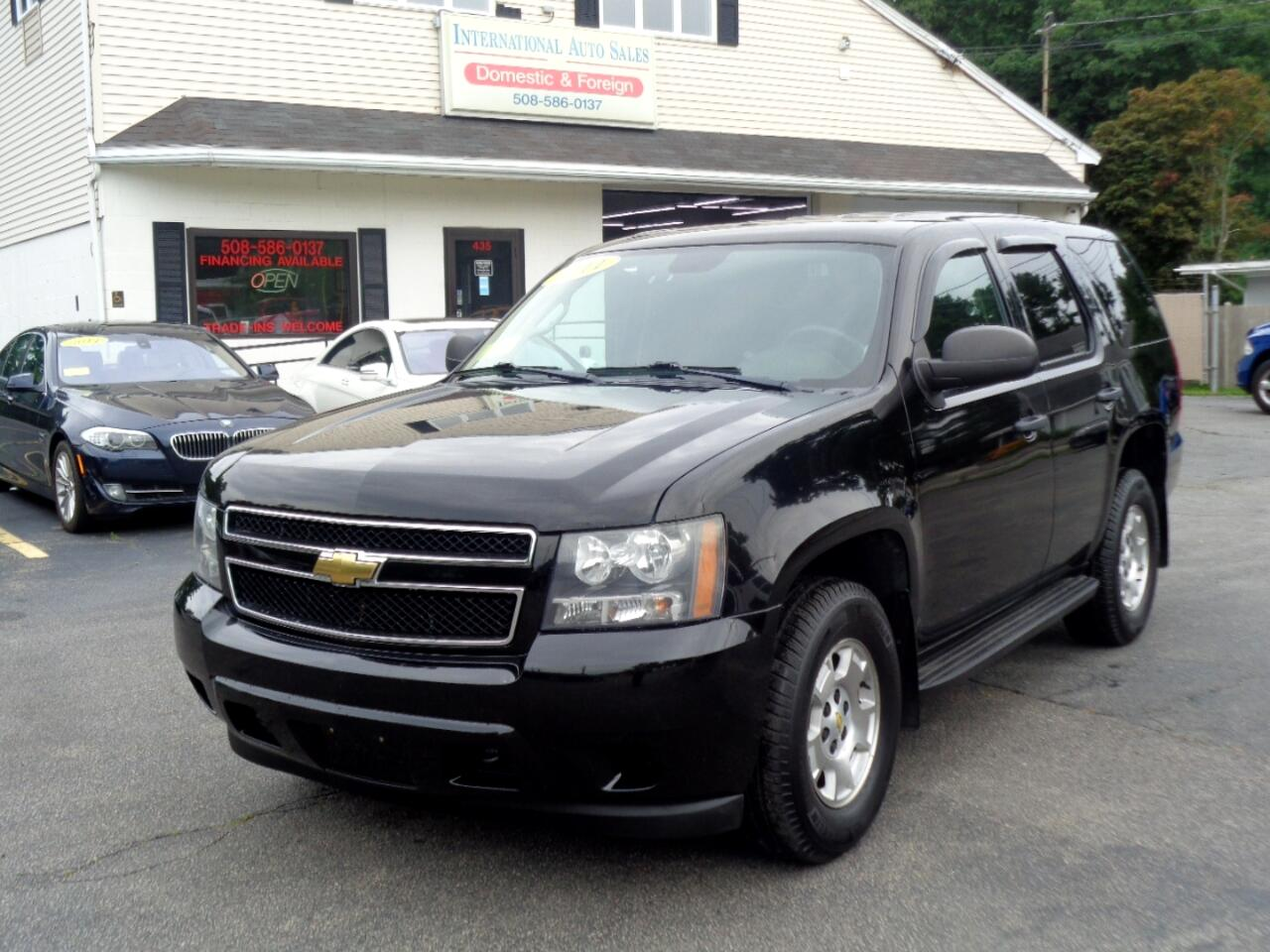 2011 Chevrolet Tahoe Police Special Services
