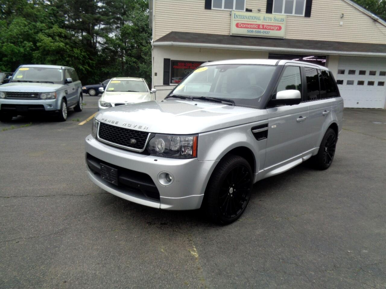 Land Rover Range Rover Sport Supercharged 2013