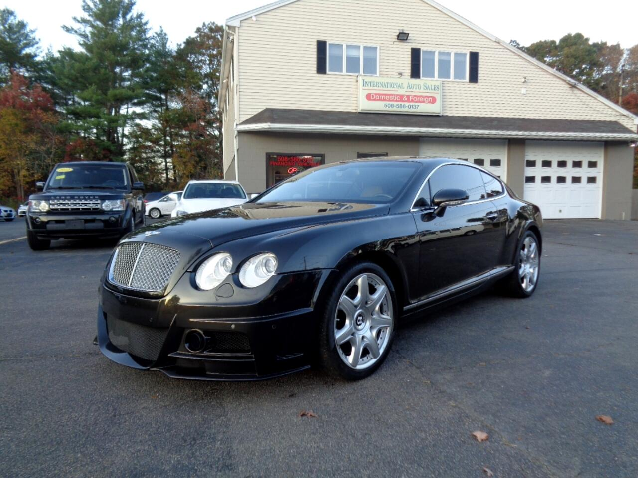 Used 2005 Bentley Continental Gt Coupe For Sale In W Bridgewater Ma 02379 International Auto Sales