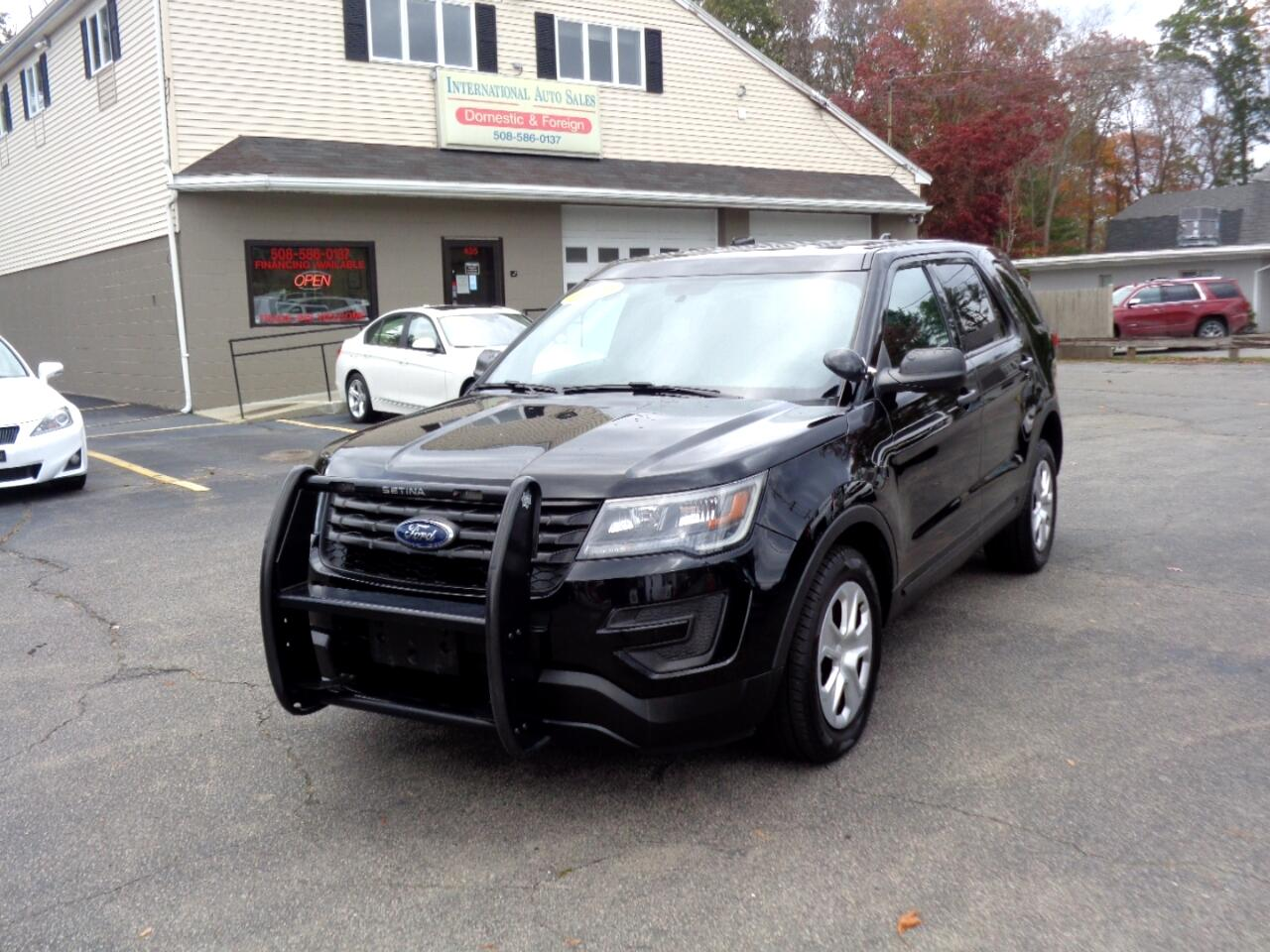 Ford Explorer Police 4WD 2017