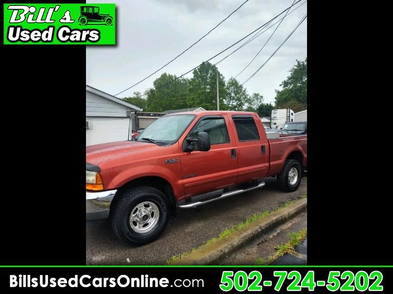 Ford F-250 SD XL Crew Cab Short Bed 4WD 2001