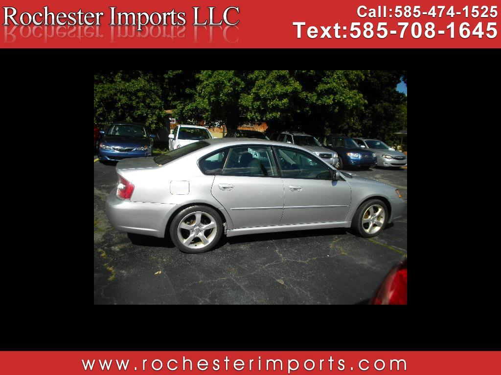 2007 Subaru Legacy Sedan 4dr H4 AT Special Edition