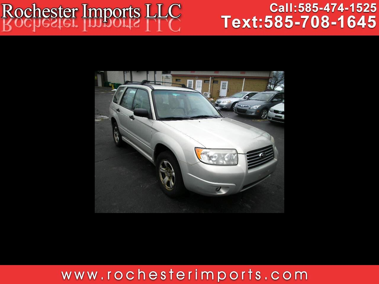 2007 Subaru Forester AWD 4dr H4 AT X